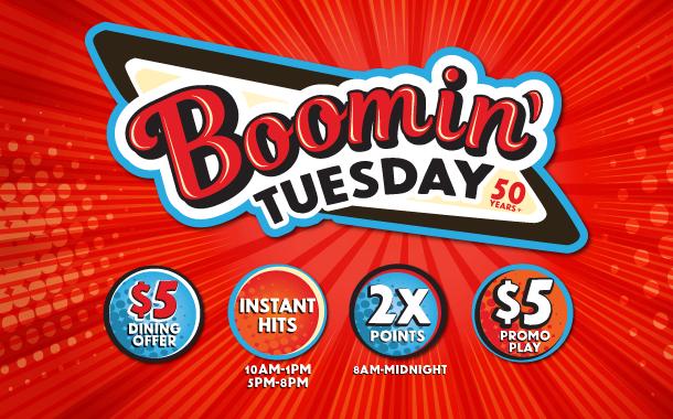 Boomin' Tuesday