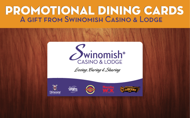 Promotional Dining Cards