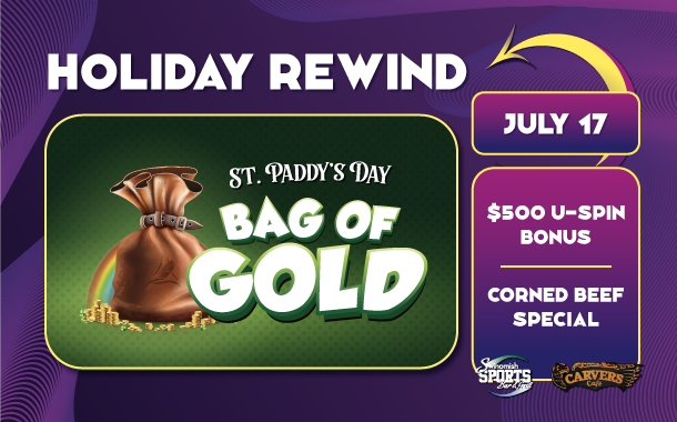St. Paddy's Day Bag of Gold