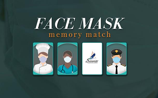 Face Mask Memory Match