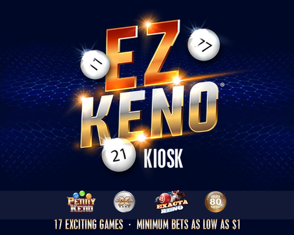 EZ Keno Kiosk