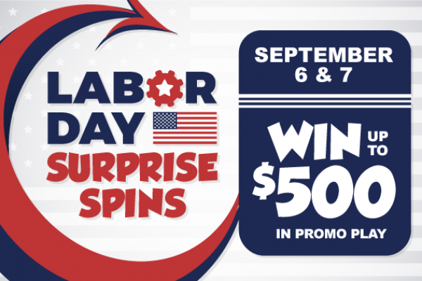 Labor Day Surprise Spins