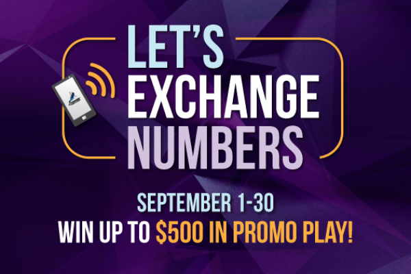 Let's Exchange Numbers
