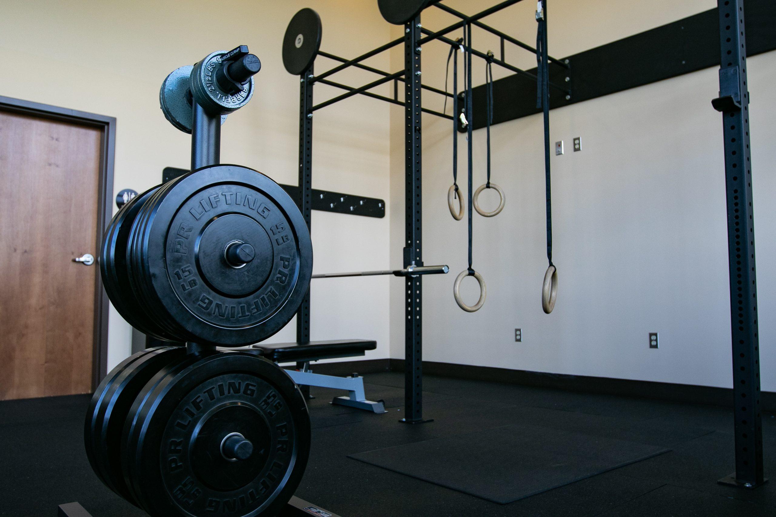 Swinomish Lodge Gym Weights