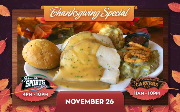 Thanksgiving Dining Specials