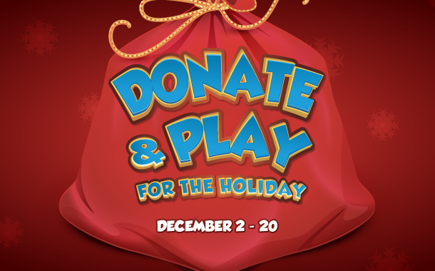 Donate & Play for the Holiday 2020