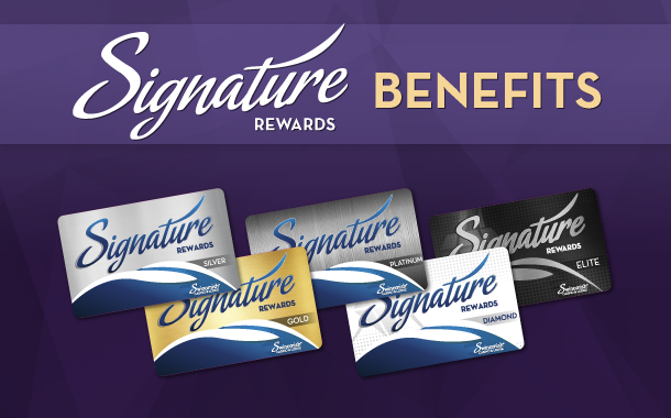 Signature Rewards Benefits
