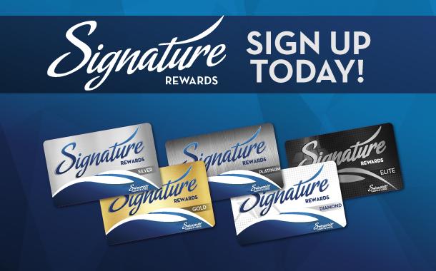 New Signature Rewards Members