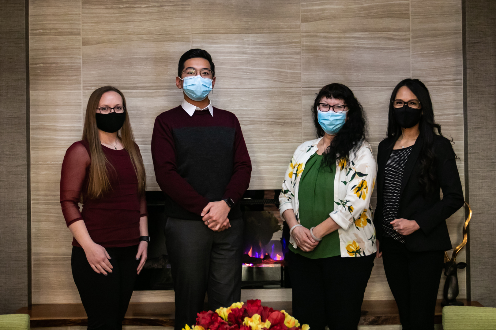 Casino Hosts Wearing Masks Swinomish Casino