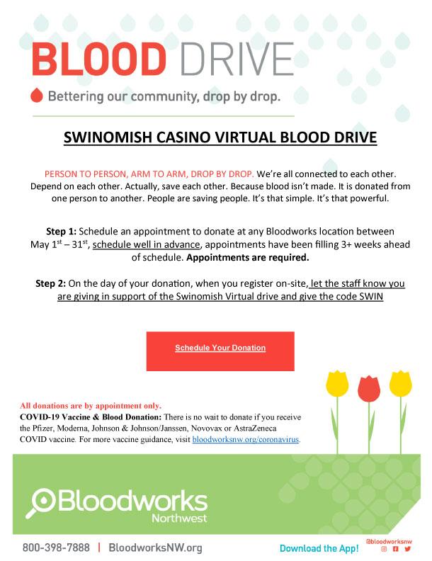 External Blood Drive
