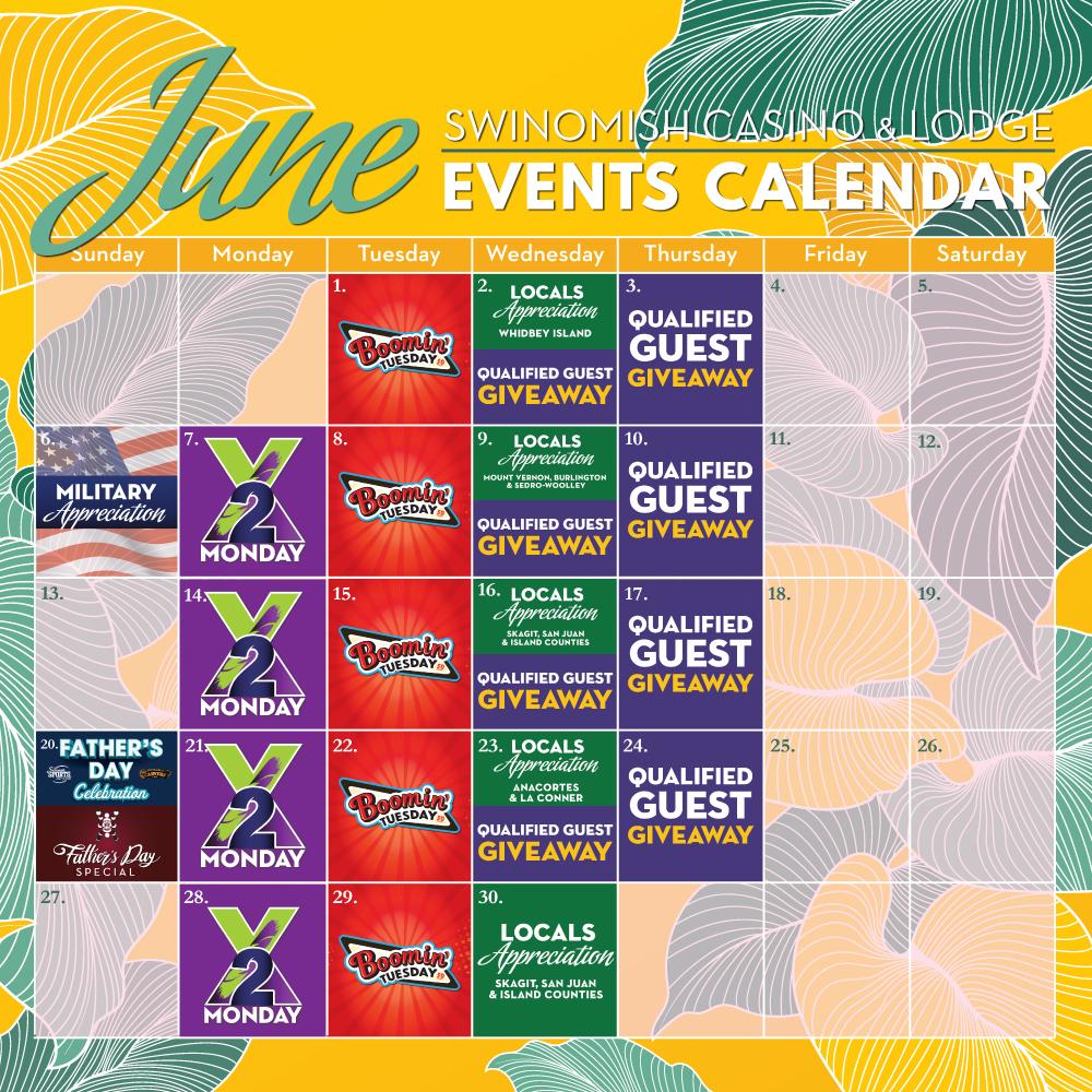 June events calendar
