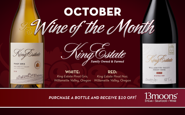 October Wine of the Month